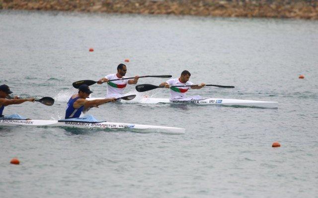 صعود قایق کایاک چهار و دو نفره ایران به فینال بازی های آسیایی