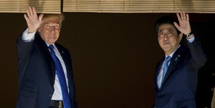 سفر ترامپ به ژاپن بعد از بر تخت نشستن امپراطور جدید