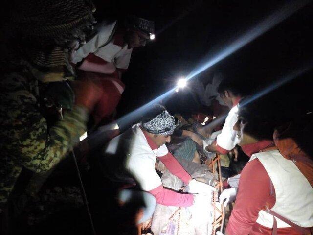 نجات چوپان 15 ساله در ارتفاعات اشترانکوه