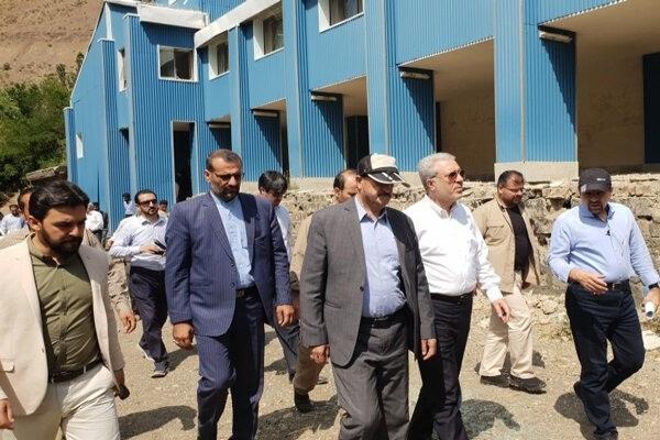 رئیس سازمان میراث فرهنگی از مجمتمع گردشگری لاله در الموت بازدید کرد