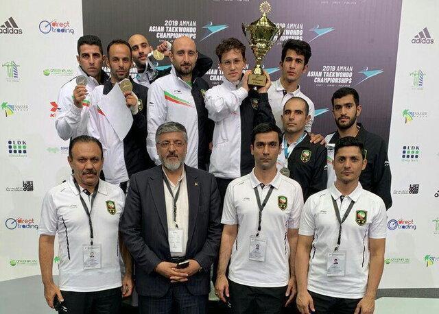 پنجمین قهرمانی پاراتکواندو ایران در آسیا