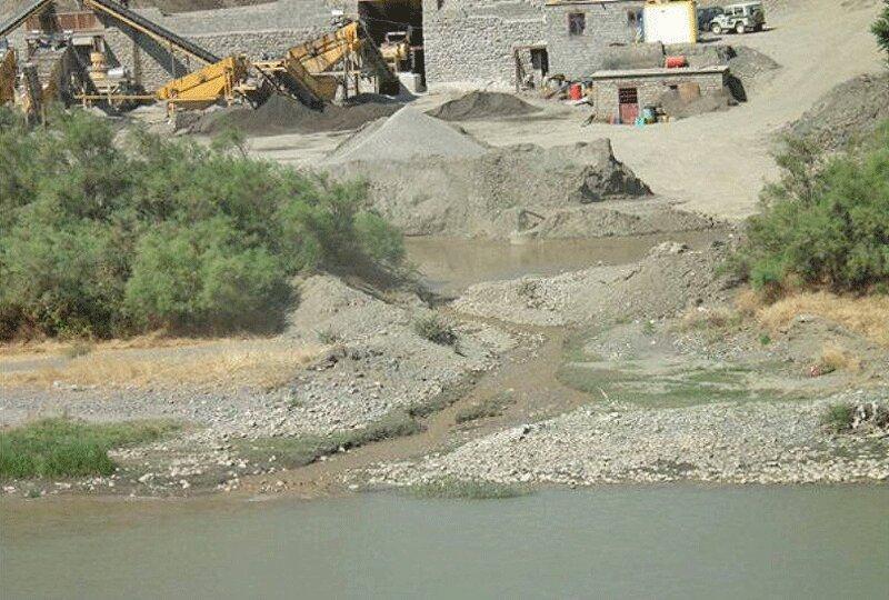 برداشت شن و ماسه از رودخانه های فصلی یزد ممنوع است