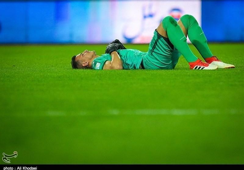تبریز، حامد لک: واقعاً مصدوم شدم و نمی خواستم روند بازی را متوقف کنم