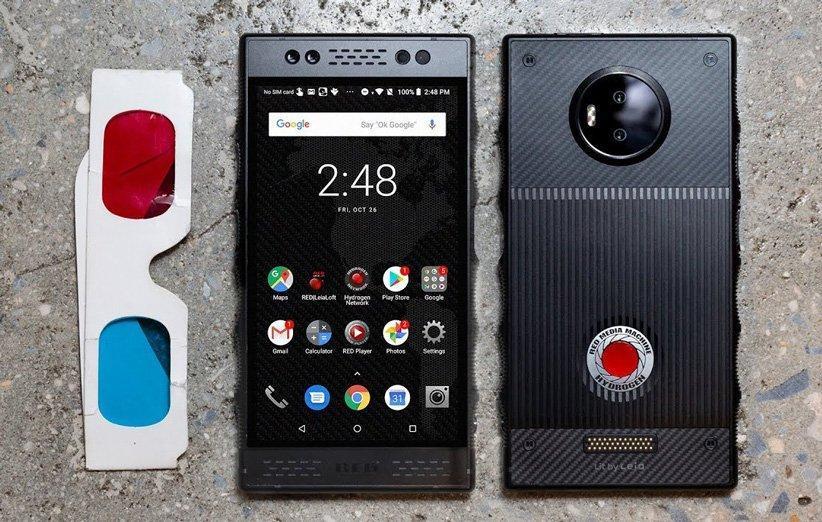 شرکت RED پروژه ساخت نسل دوم گوشی هیدروژن را منتفی کرد