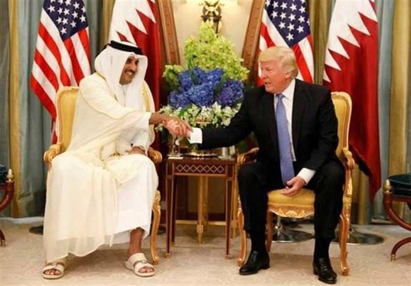 گفت وگوی تلفنی امیر قطر و ترامپ درباره آخرین تحولات منطقه