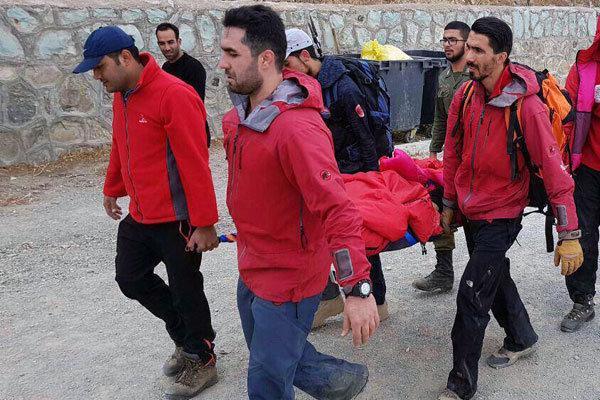 خروج مرد 45 ساله از حادثه بهمن توچال