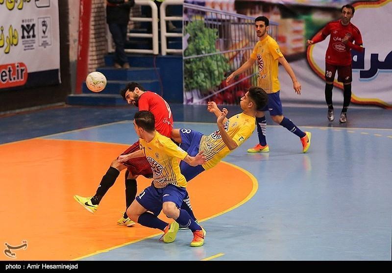 لیگ برتر فوتسال، فزونی خانگی سوهان محمدسیما مقابل ملی حفاری