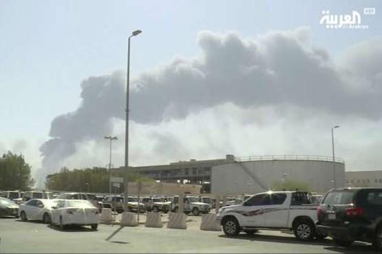 یمن از حمله پهپادی و موشکی به آرامکو اطلاع داد