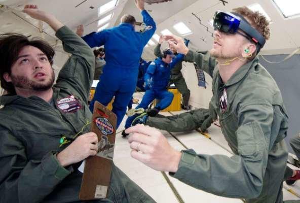 هدستهای واقعیت افزوده مهمان تازه ایستگاه فضایی