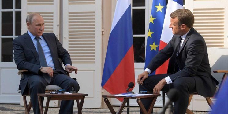 گفت وگوی تلفنی پوتین و ماکرون درباره سوریه