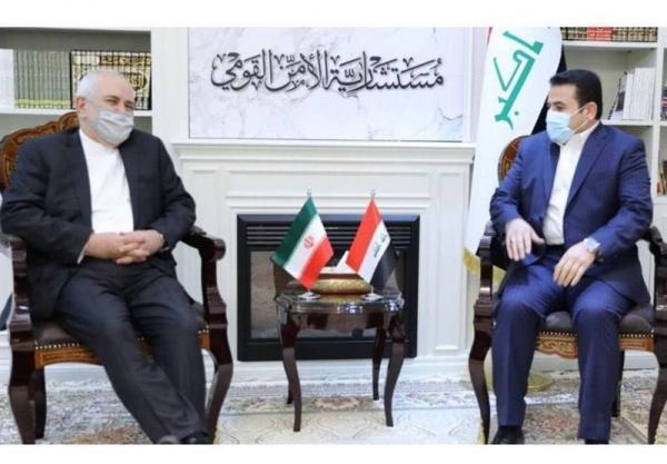 ملاقات ظریف با مشاور امنیت ملی عراق