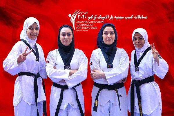 اعزام دختران پاراتکواندو به اردن، کوشش برای کسب سهمیه پارالمپیک